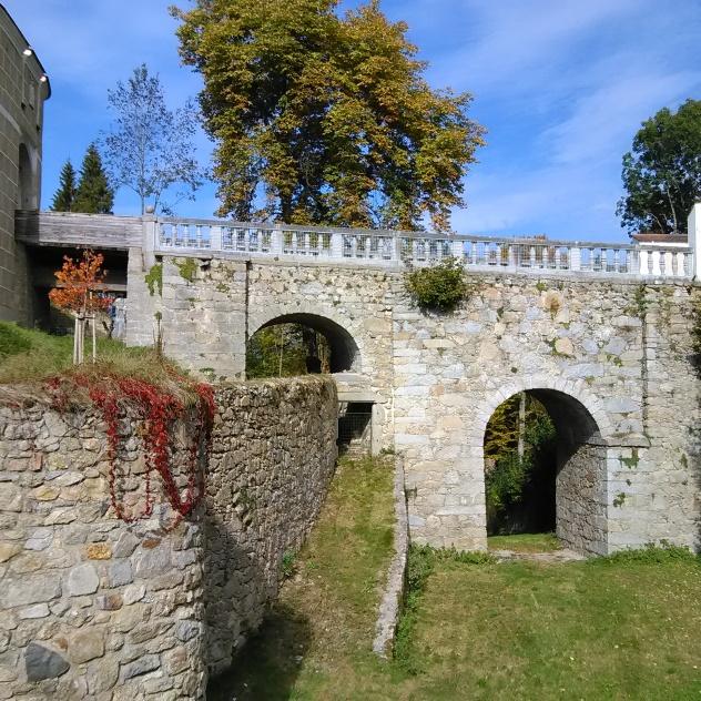 Schloss Weinberg Castle Moat