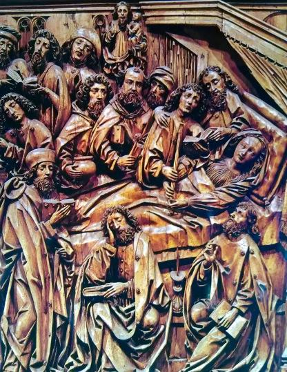 Winged Altar Religious Scene